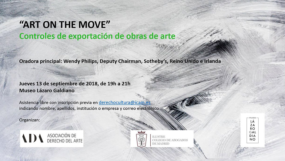 Jornadas ART ON THE MOVE en el Museo Lázaro Galdiano